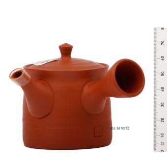 Japanisches Teekännchen Kranich / Handarbeit
